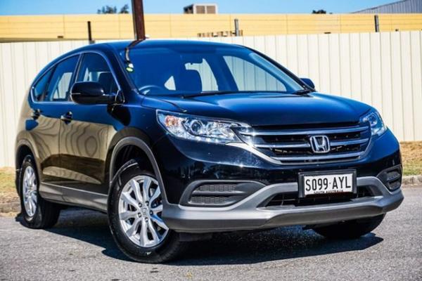 2013 Honda CR-V RM MY14 VTi-S 4WD Black 5 Speed Sports Automatic