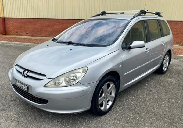 2004 Peugeot 307 T5 MY04 XSE Silver 4 Speed Sports Automatic