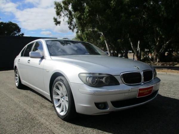 2006 BMW 7 Series E66 740Li Steptronic Silver 6 Speed Sports Automatic