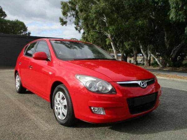 2011 Hyundai i30 FD MY11 SX Red 5 Speed Manual