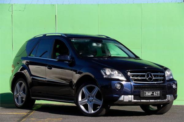 2011 Mercedes-Benz M-Class ML350 CDI BlueEFFICIENCY AMG Sports W164 MY10