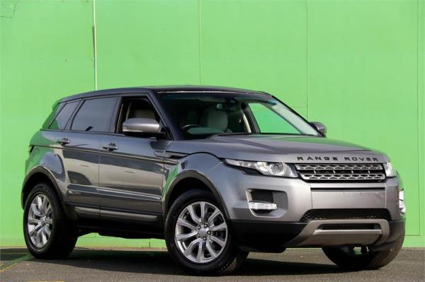 2012 Land Rover Range Rover Evoque SD4 Pure L538 MY12