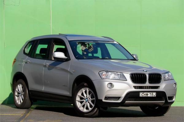 2012 BMW X3 xDrive20d F25 MY0412