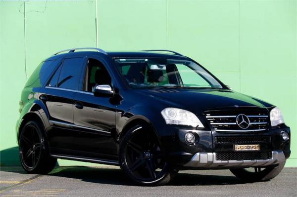 2010 Mercedes-Benz M-Class ML300 CDI BlueEFFICIENCY W164 MY10