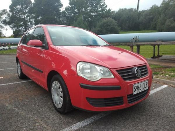 2006 Volkswagen Polo 9N MY2006 Match Red 5 Speed Manual