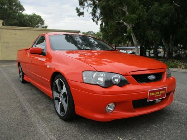 2003 Ford Falcon BA XR6 Turbo Ute Super Cab 4 Speed Sports Automatic