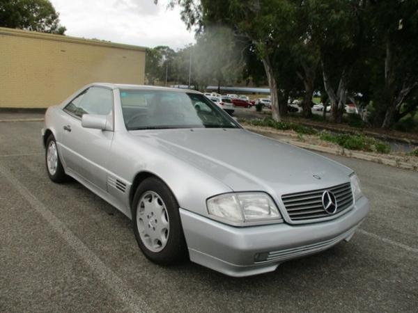 1995 Mercedes-Benz SL-Class R129 SL500 Silver 4 Speed Automatic