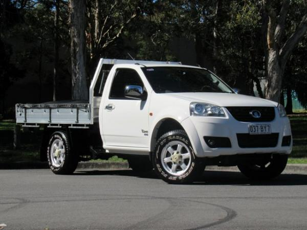 2012 Great Wall V240 K2 MY12 White 5 Speed Manual