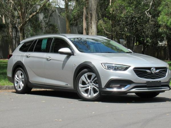 2017 Holden Calais ZB MY18 Tourer AWD Silver 9 Speed Sports Automatic