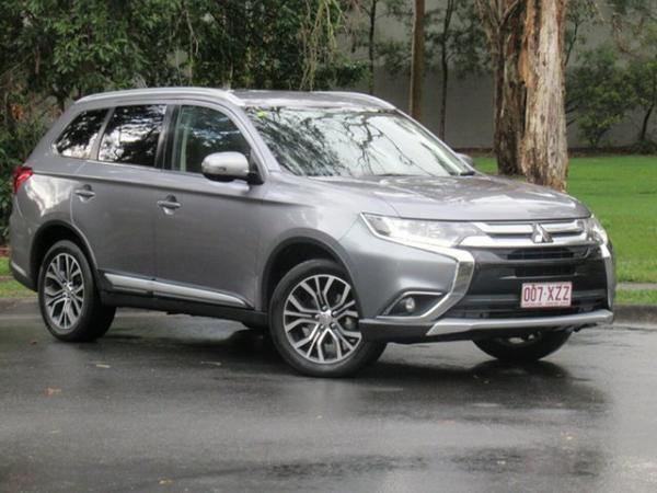 2016 Mitsubishi Outlander ZK MY17 LS 2WD Safety Pack Grey 6 Speed Constant Variable