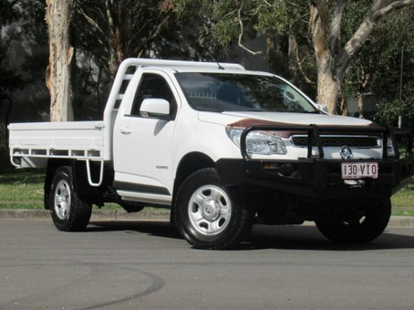 2015 Holden Colorado RG MY16 LS 4x2 White 6 Speed Manual