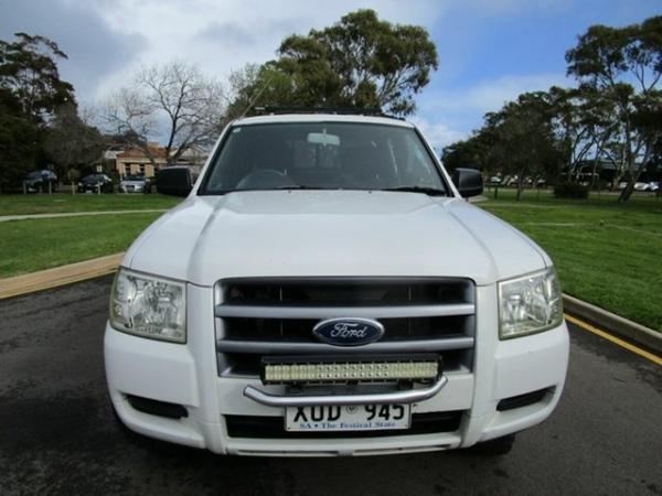 2007 Ford Ranger PJ 07 Upgrade XL (4x2) White 5 Speed Manual Dual Cab