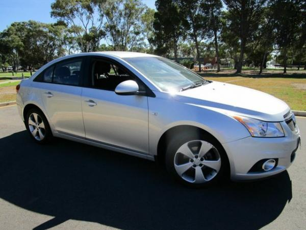 2013 Holden Cruze JH MY13 CD Equipe Silver 6 Speed Automatic