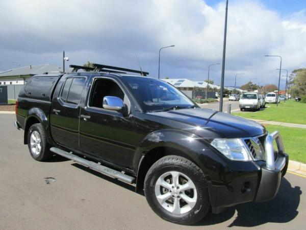 2011 Nissan Navara D40 Series 4 ST-X (4x4) Black 5 Speed Automatic Dual Cab