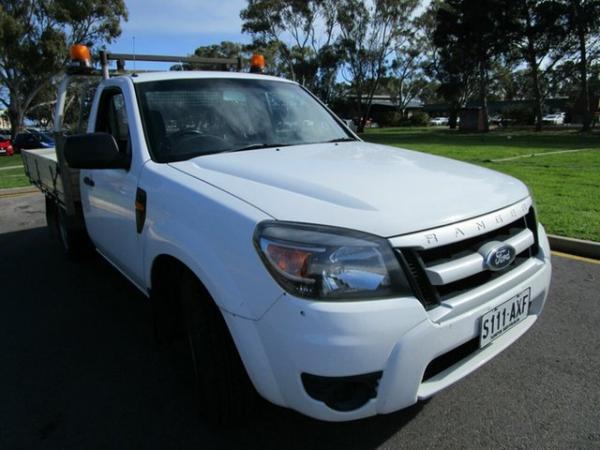 2009 Ford Ranger PJ 07 Upgrade XL (4x2) White 5 Speed Manual