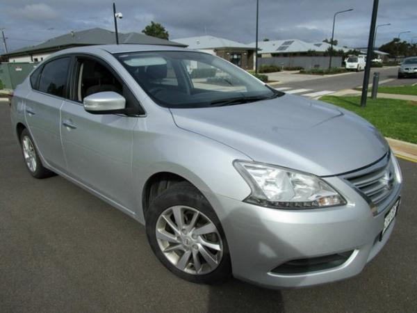 2014 Nissan Pulsar B17 ST Silver Continuous Variable