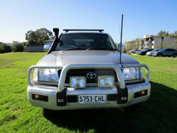 2001 Toyota Landcruiser FZJ105R GXL (4x4) Grey 4 Speed Automatic 4x4