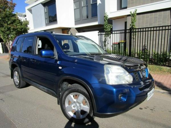 2010 Nissan X-Trail T31 MY11 ST (4x4) Blue 6 Speed CVT Auto Sequential