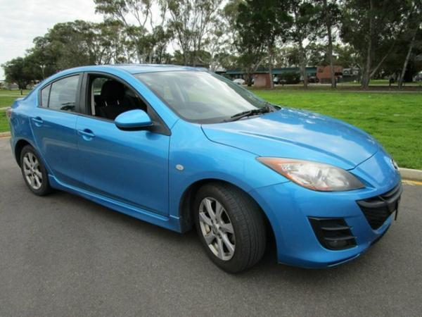 2010 Mazda 3 BL 10 Upgrade Maxx Blue 5 Speed Automatic