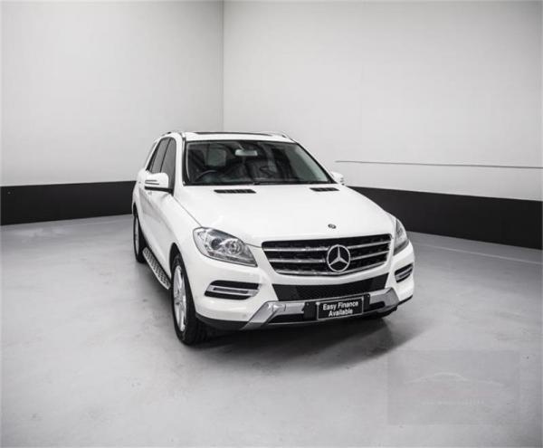 2013 Mercedes-Benz ML 4D WAGON 250CDI BLUETEC (4x4) 166
