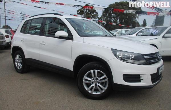 2013 Volkswagen Tiguan Trend 118KW TSi