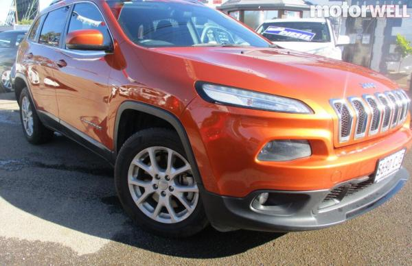 2014 Jeep Cherokee Longitude 4x4 Auto 2014
