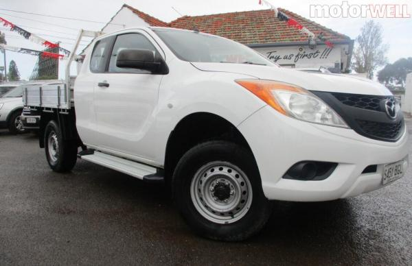 2015 Mazda BT-50 Auto Extra CabChassis 4x4 T