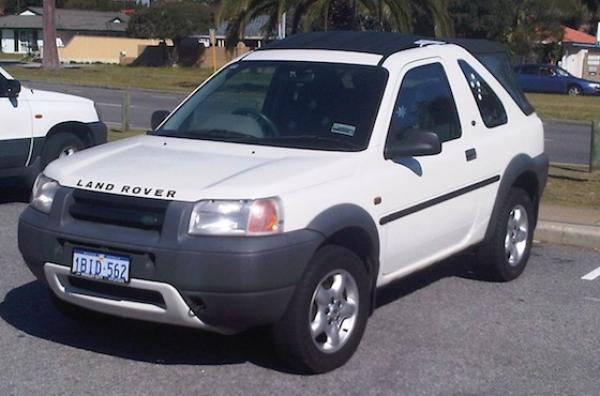 2000 Land Rover LAND ROVER FREELANDER XI-SOFTOP-3 DOOR-MANUAL-