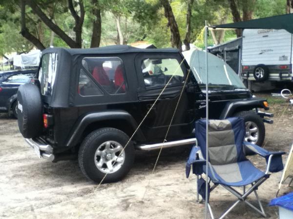 2001 Jeep Wrangler Sports