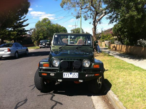 1997 Jeep wrangler sports tj