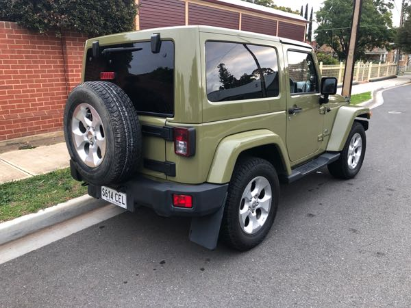 2013 Jeep Wrangler Overland